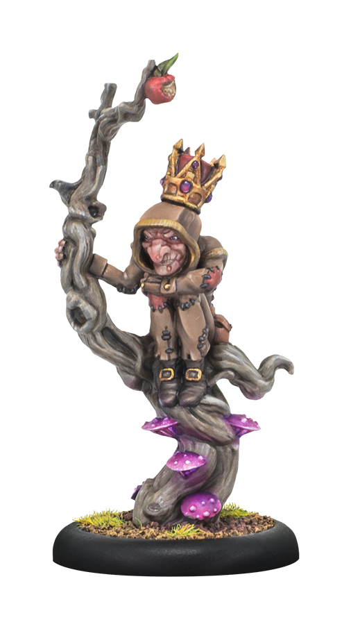 Hordes: (Grymkin) The King of Nothing - Grymkin Warlock (resin/metal)
