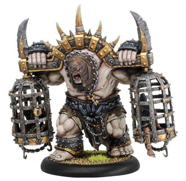 Hordes: (Grymkin) Cage Rager - Grymkin Heavy Warbeast (metal)