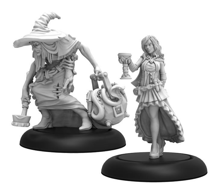 Hordes: (Grymkin) Twilight Sisters - Grymkin Unit (metal)