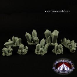 Extraordinary Basing Kits: Crystals Basing Kit (8)