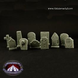 Extraordinary Basing Kits: Fantasy Graveyard Tombstones (12)