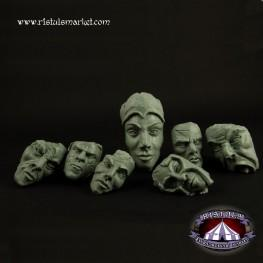Extraordinary Basing Kits: Stone Faces Terrains (7)