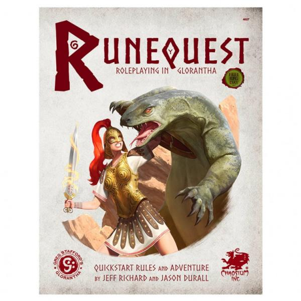 RuneQuest RPG: Roleplaying in Glorantha Quickstart
