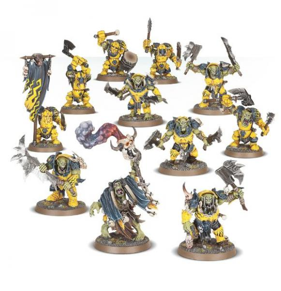 Age of Sigmar: Ironjawz Weirdnob Warband
