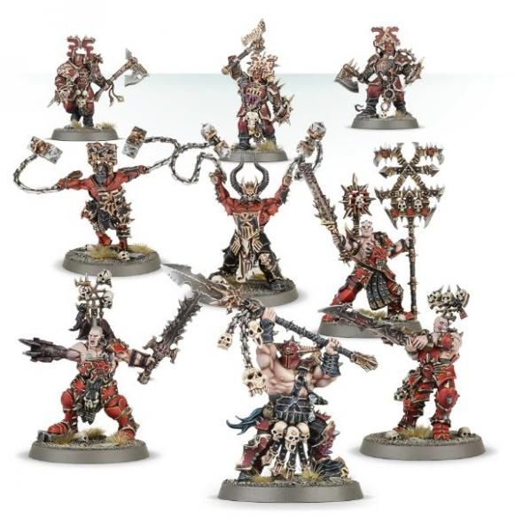 Age of Sigmar: Khorne Bloodbound Frenzied Goretribe