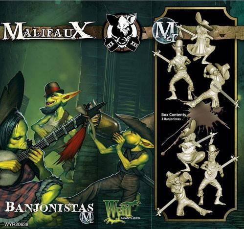 Malifaux: (The Gremlins) Banjonistas
