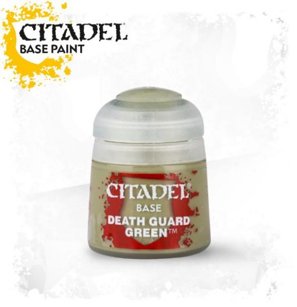 Citadel Base Paints: DEATH GUARD GREEN (12ML)