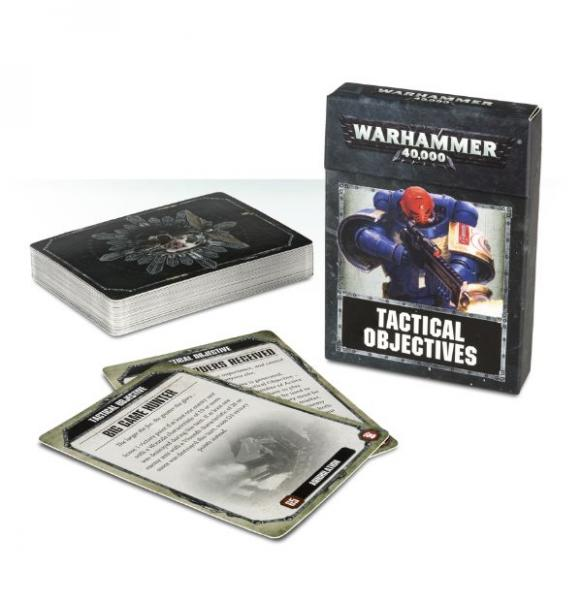 WH40K: TACTICAL OBJECTIVE CARDS (2017)