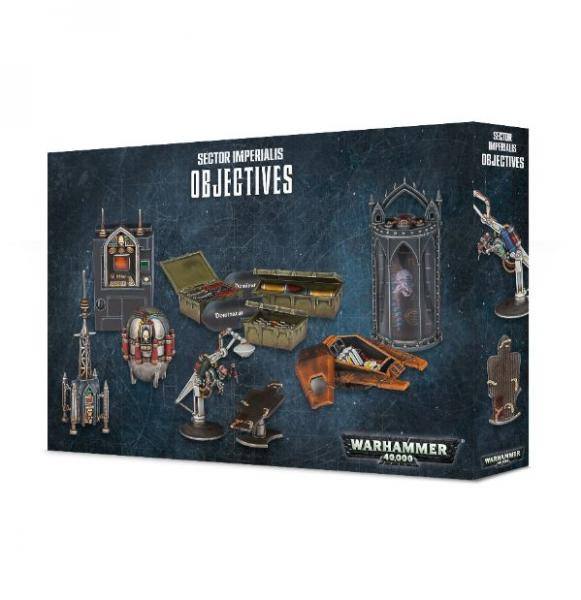 WH40K: SECTOR IMPERIALIS - OBJECTIVES