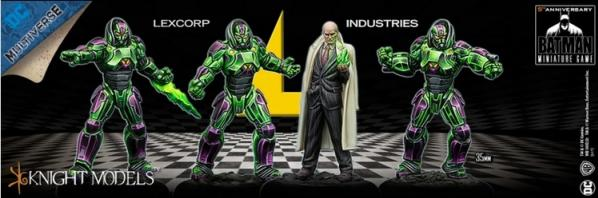 Batman Miniature Game: LEXCORP INDUSTRIES Set (4)