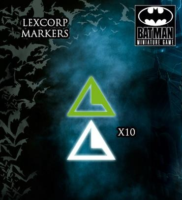 Knight Models DC Universe: (Accessories) LEXCORP MARKERS