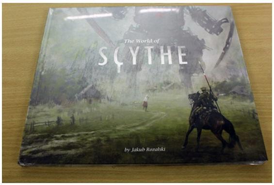 Scythe: (Accessories) Art Book