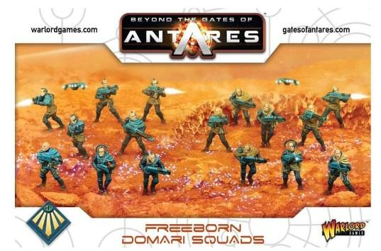 Beyond The Gates Of Antares: (Freeborn) Freeborn Domari Squad