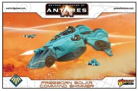 Beyond The Gates Of Antares: (Freeborn) Freeborn Solar Command Skimmer