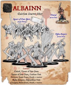 Darklands: Albainn Gairlom Infantry Starter Host