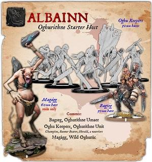 Darklands: Albainn Oghurithne Monstrous Infantry Starter Host