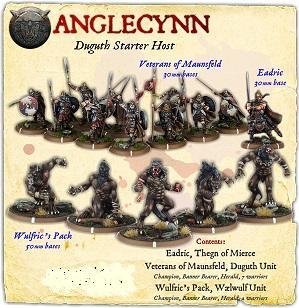 Darklands: Anglecynn Duguth Infantry Starter Host