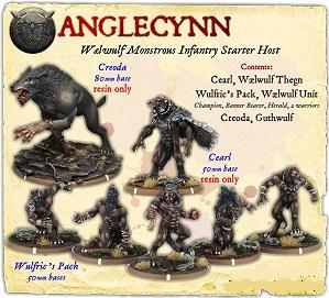 Darklands: Anglecynn Waelwulf Monstrous Infantry Starter Host