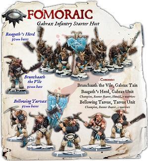 Darklands: Fomoraic Gabrax Infantry Starter Host