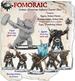 Darklands: Fomoraic Sronax Monstrous Infantry Starter Host