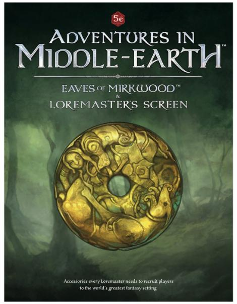 Dungeons & Dragons RPG: Adventures In Middle-Earth Loremaster's Screen