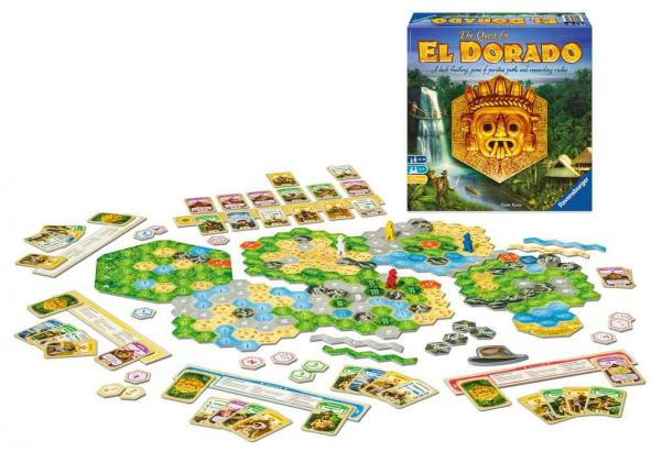 The Quest for El Dorado: Core Game