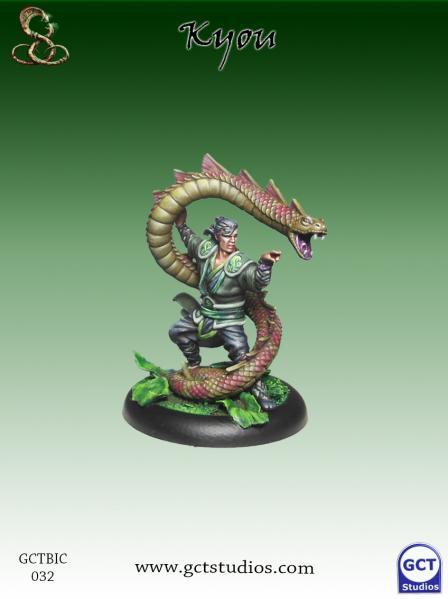 Bushido Miniatures: (Ito Clan) Kyou
