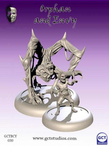 Bushido Miniatures: (Cult Of Yurei) Senbo & Envy