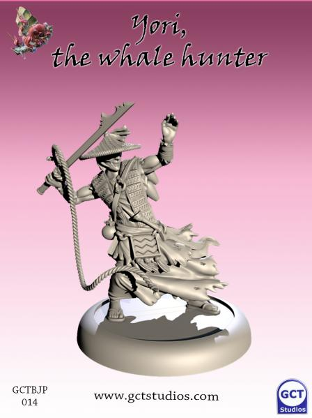 Bushido Miniatures: (Jung Pirates) Yori, The Whale Hunter