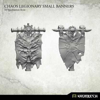 Conversion Bitz: Chaos Legionary Small Banners (2)