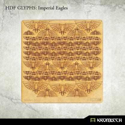 Accessories: HDF Glyphs - Imperial Eagles