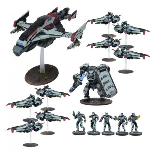 Deadzone, 2nd Edition: (Enforcers) Enforcer Reserve Force