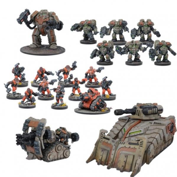Deadzone, 2nd Edition: (Forge Father) Forge Father Reserve Force