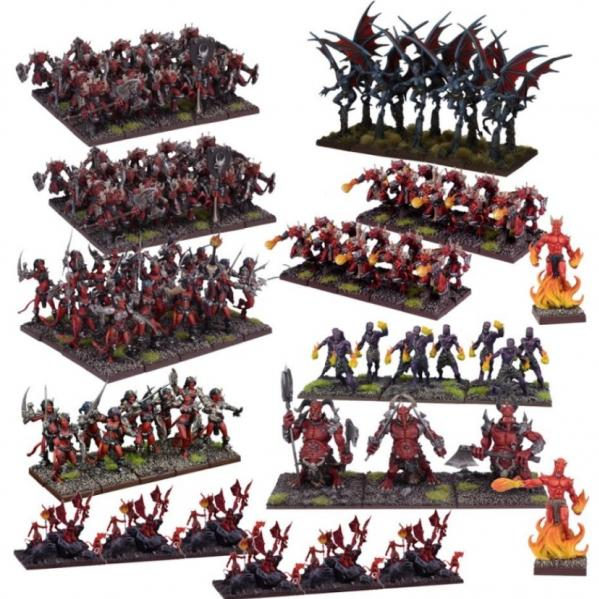 Kings Of War: (Forces Of The Abyss) Mega Army