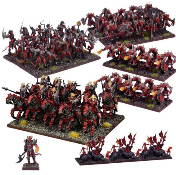 Kings Of War: (Forces Of The Abyss) Army