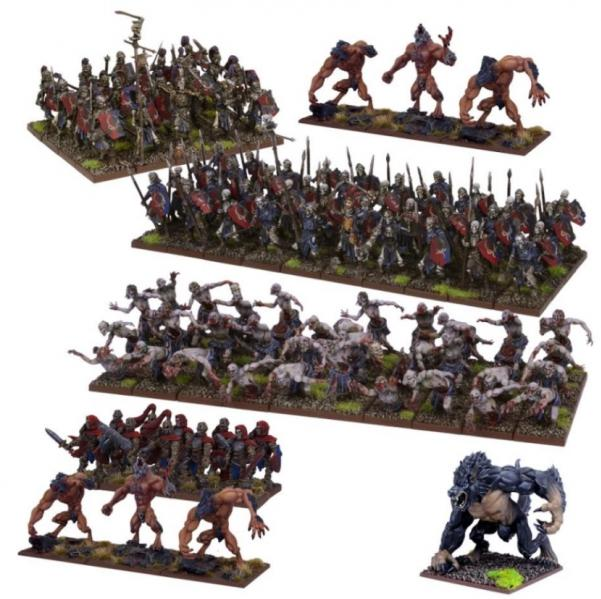 Kings Of War, 2nd Edition: (Undead) Undead Mega Army