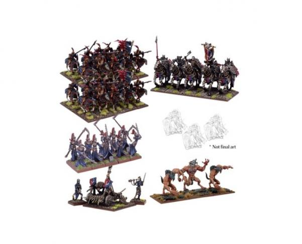 Kings Of War, 2nd Edition: (Undead) Undead Elite Army