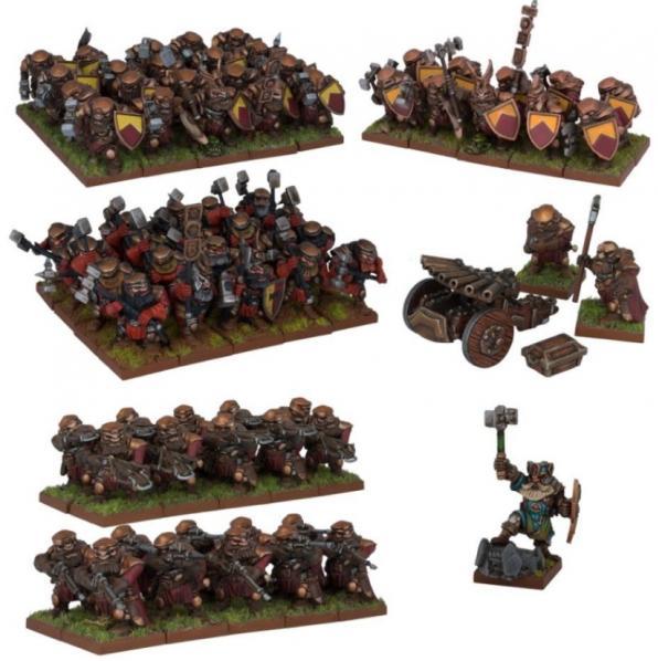 Kings Of War, 2nd Edition: (Dwarf) Dwarf Army