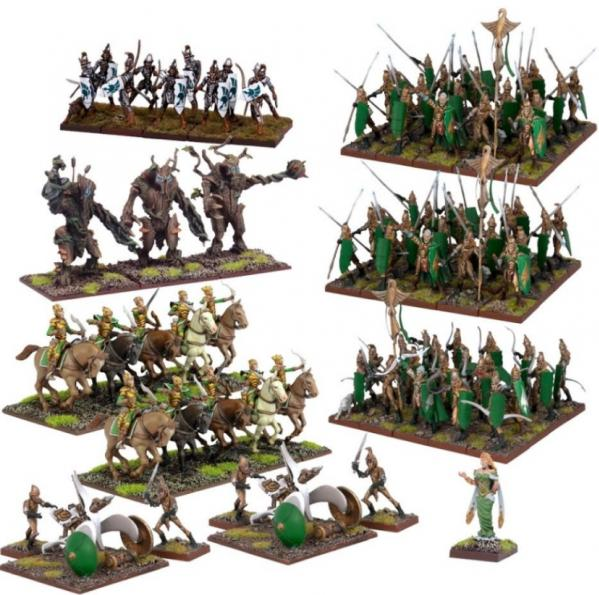 Kings Of War: Elf Mega Army