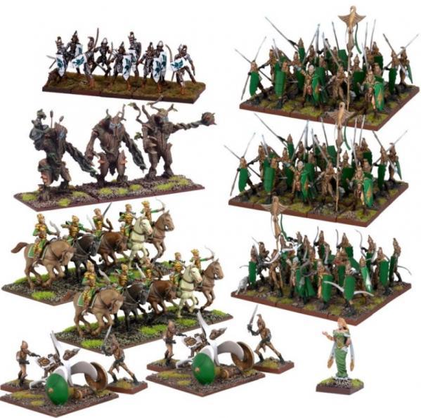 Kings Of War: Elf Mega Army