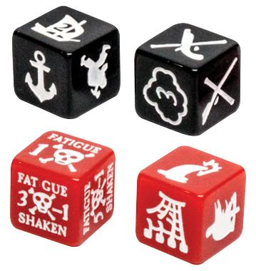 Blood & Plunder: Marker Dice Set
