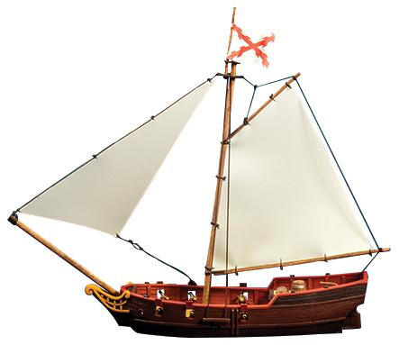 Blood & Plunder: Sloop Ship (Resin)