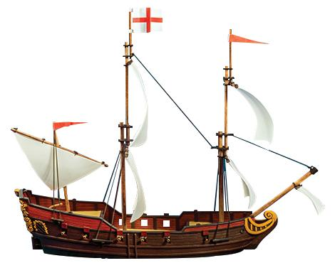 Blood & Plunder: Frigate Ship (Resin)