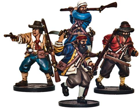 Blood & Plunder: (English) Forlorn Hope Unit (Buccaneer Storming Party)