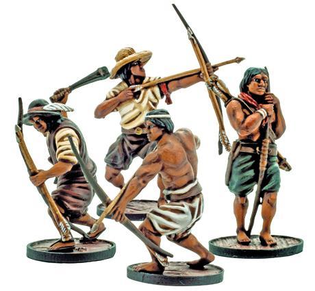 Blood & Plunder: (Spanish) Milicianos Indios Unit