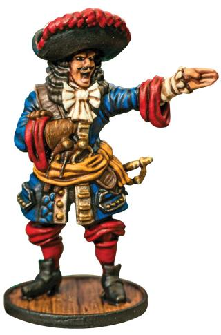 Blood & Plunder: (French) French Buccaneer Commander
