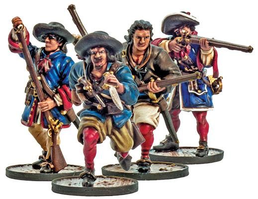 Blood & Plunder: (French) Flibustiers Unit