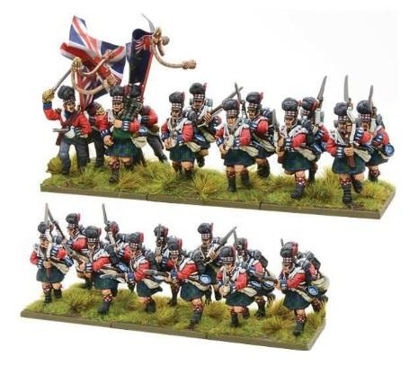 Black Powder (Napoleonic Wars): Highlanders Regiment
