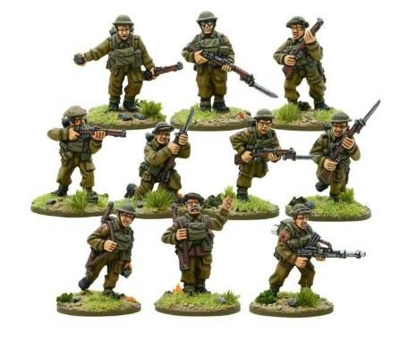 Bolt Action, 2nd Edition: (British) BEF Infantry Section