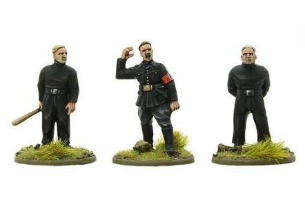 Bolt Action, 2nd Edition: Sir Oswald Moseley, BUF Leader Pack (3)